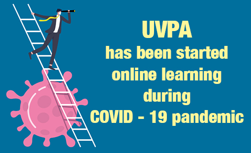 UVPA has started online learning during COVID – 19 pandemic