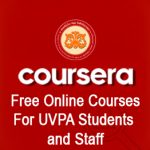 Coursera- Free Online Courses from worlds top Universities for UVPA Students