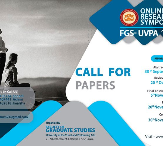 Online Research Symposium FGS-UVPA 2021(UVPA Postgraduate students Only)