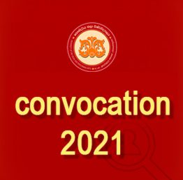 Convocation 2021 – Application to Obtain the Degree In-absentia (Closing Date – 30.09.2021)